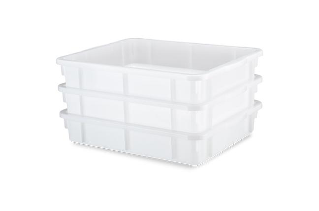 caixas empilháveis branca