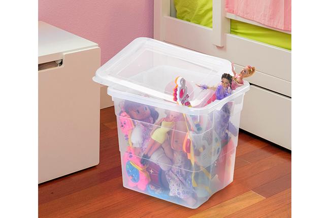 Caixas Organizadoras em Quarto Infantil