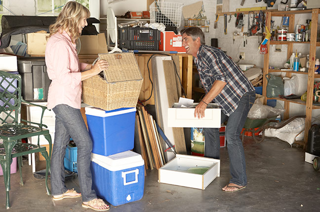 Organizando a garagem