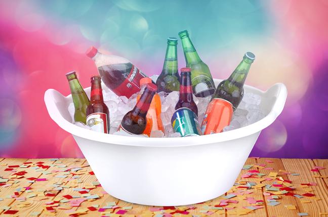como manter as bebidas geladas no carnaval