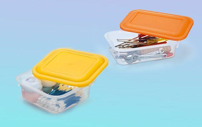 Como reaproveitar potes plásticos