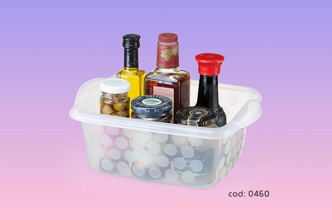Potes Plásticos para guardar itens de cozinha