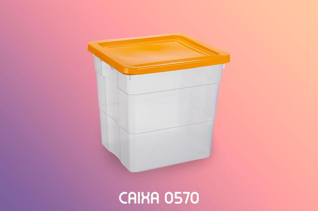Utilidades da Caixa Plástica 0570