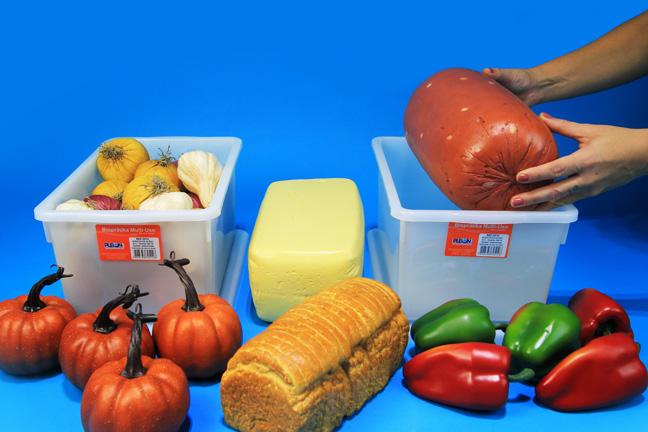 Armazenar alimentos em potes pl sticos na geladeira pleion - Alimentos frios ...