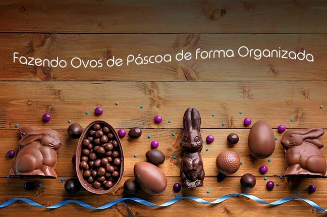 Produção de Ovos de Páscoa